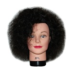 "16"" Cosmetology Mannequin Head Erica Naturally Curly Virgin Hair by Celebrity"