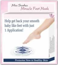 Miasasha Miracle Foot Mask - Qty 2