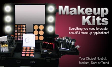 Professional makeup kits for makeup artist