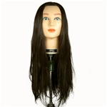 "Celebrity 30"" Cosmetology Mannequin Head Synthetic Hair, Brown - Allison"