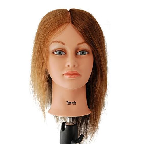 S153 Burmax Sam Cosmetology Human Hair Manikin Beauty