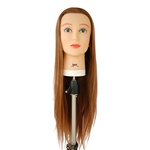 "Celebrity 30"" Cosmetology Mannequin Head Synthetic Hair, Reddish Blonde - Lexi"